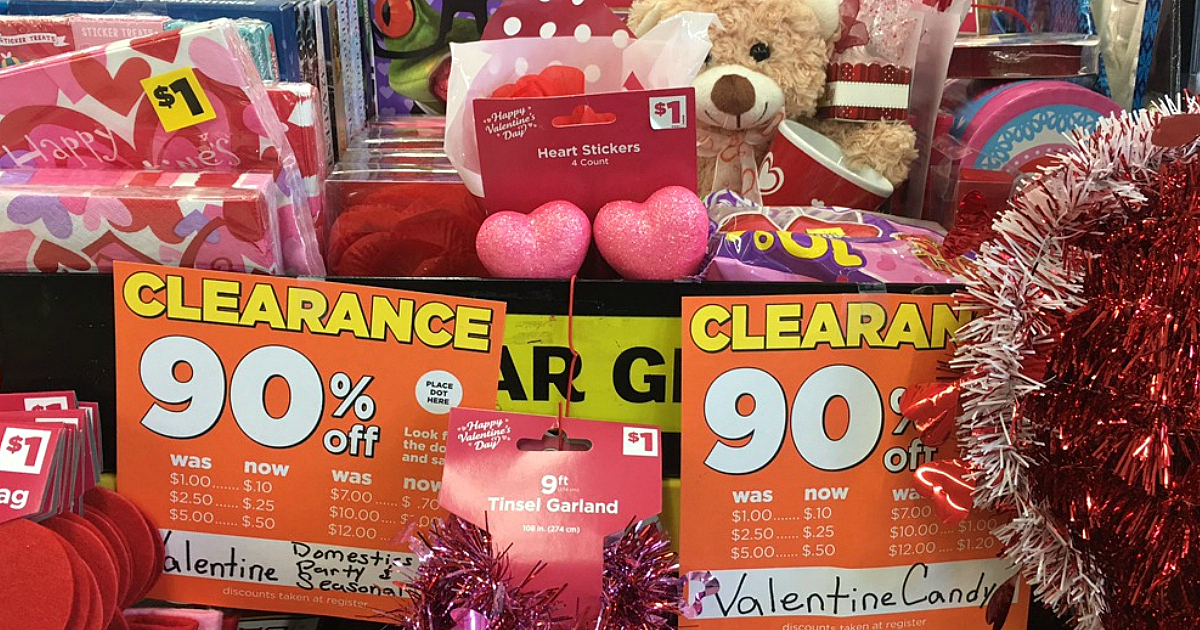 3a3ec3026c82 Dollar General  90% Off Valentine s Day Clearance - Hip2Save