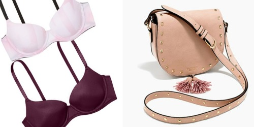Victoria's Secret Angel Cardholders: TWO Bras + Boho Bag $46 Shipped + Earn $20 Reward Card