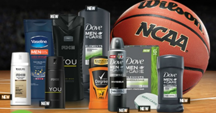 Walgreens: Buy 1 Get 1 50% Off Axe, Degree, Dove or Suave Men + 5,000 Points w/ $15 Purchase