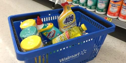 Walmart: Big Savings on Clorox, Pine-Sol & More