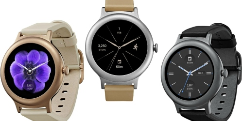 BestBuy.com: LG Watch Style 42.3mm Stainless Steel Smartwatch $179.99 Shipped (Reg. $279.99)