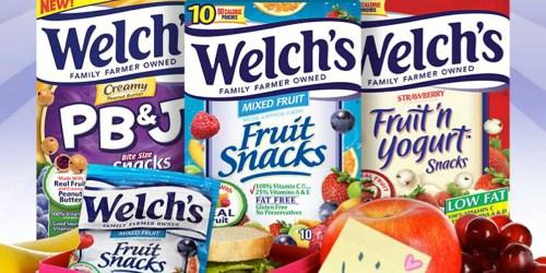 Target: Welch's Fruit 'n Yogurt Snacks Just $1.49 Each (Regularly $2.99)
