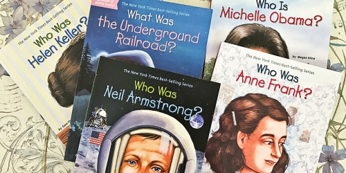 "Amazon: Educational ""Who Was ?"" History Paperback Books Starting At Just $2.49 (Reg. $5.99)"