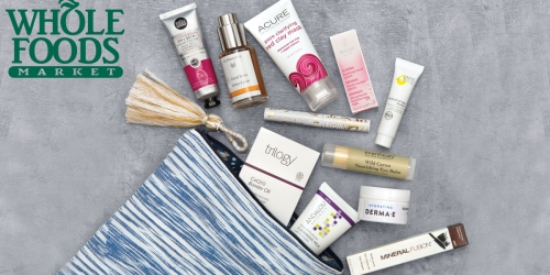 Whole Foods Market: Limited Edition Beauty Bags ONLY $18 ($90 Value) – Available Now