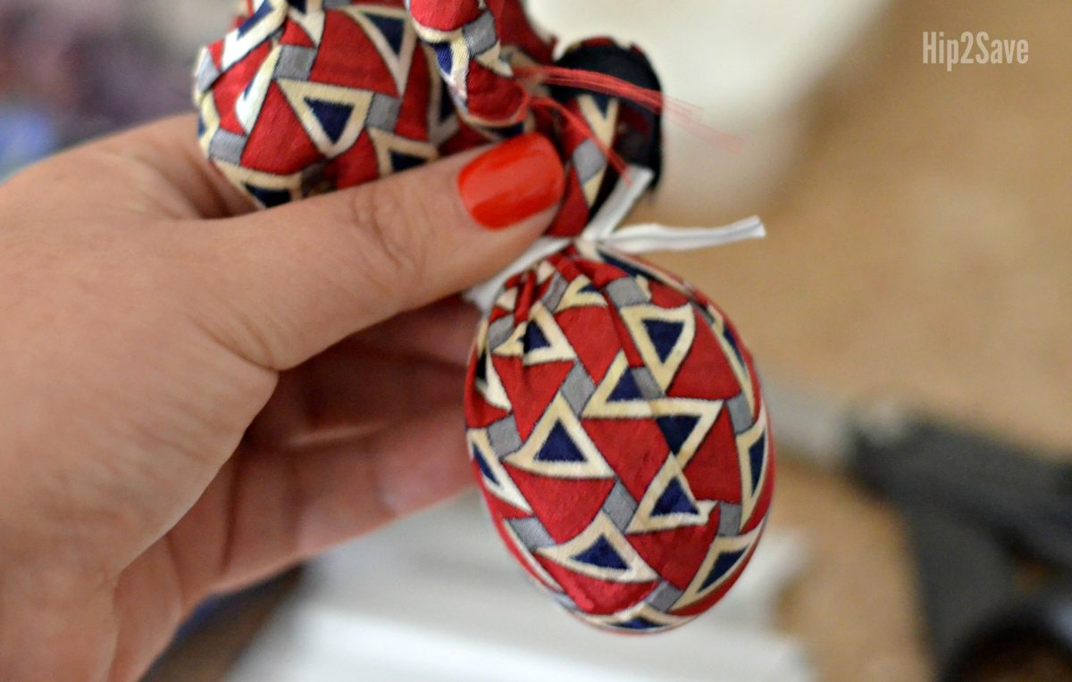 fun way to dye easter eggs with silk