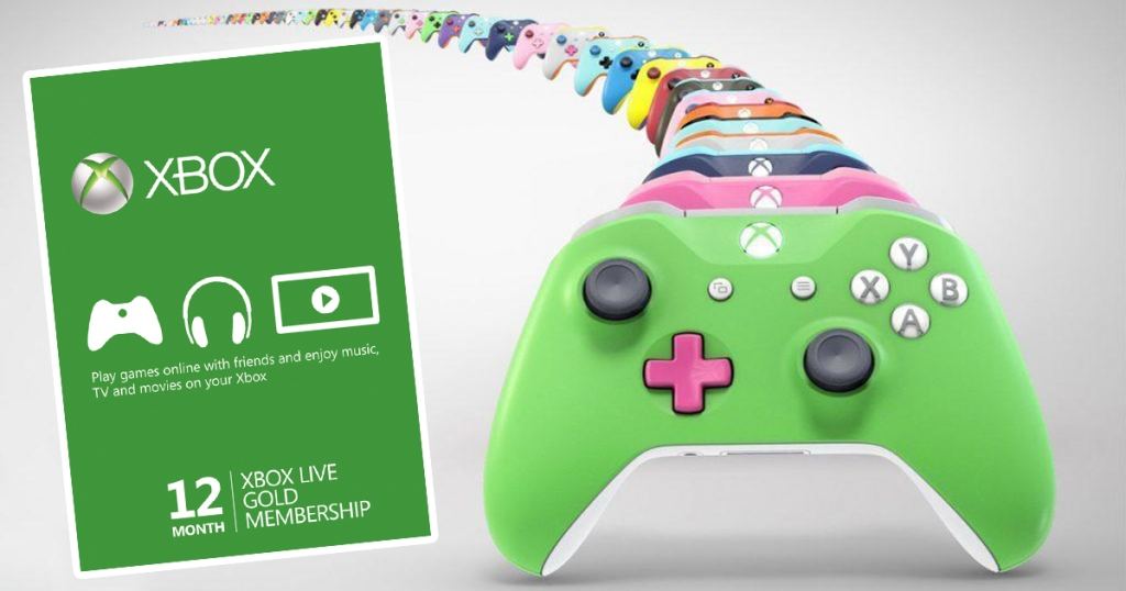 12-Month Xbox Live Gold Membership Card Only $39 99 Shipped