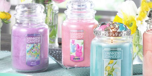 Yankee Candle: Large Candles As Low As $13 Each (Regularly $27.99 Each) – Including Easter Scents