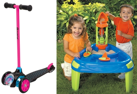 Scooter and Playtable