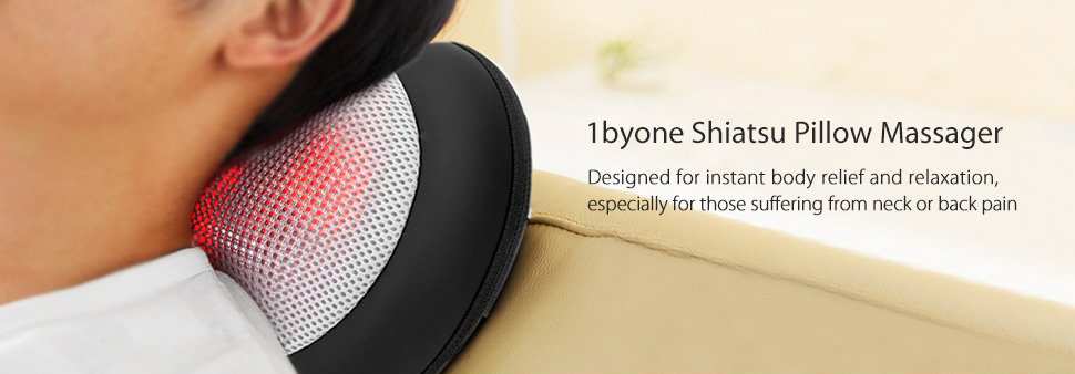 1byone Shiatsu Massage Pillow