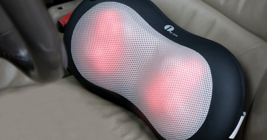 1byone Shiatsu Pillow Massager