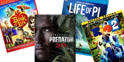 Best Buy: 3D Blu-ray Movies Only $9.99 (Regularly up to $29.99)