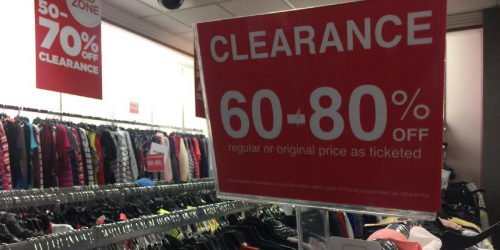 JCPenney Clearance Up To 80% Off + Extra 25% Off with Mobile Coupon