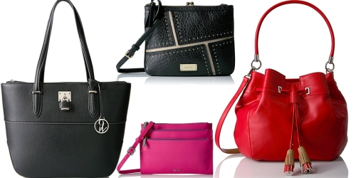 Amazon: 50% Off Wallets & Handbags = Nine West Table Treasures Tri Zip Crossbody Wallet Only $24.63 (Reg $49) + More Deals