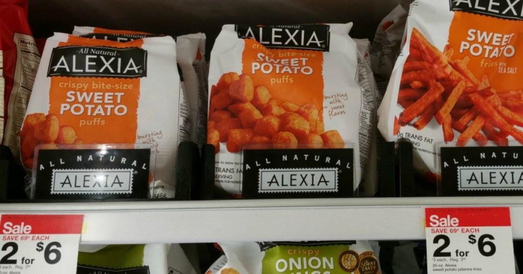 Alexia Frozen Potatoes at Target