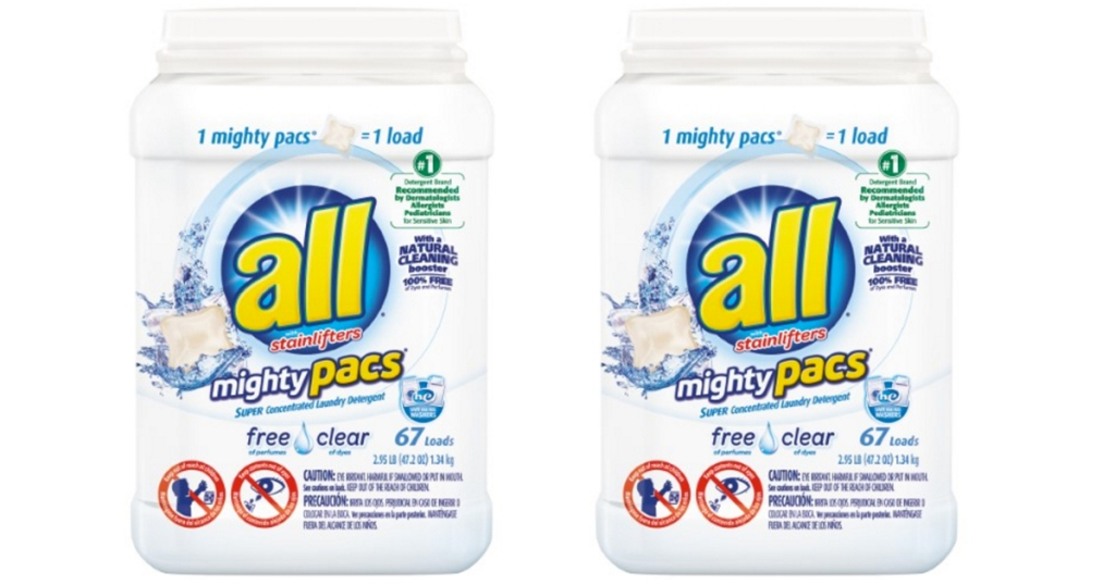 All Detergent Mighty Pacs