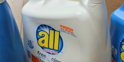 Target: BIG All Free & Clear 141 Ounce Laundry Detergent Only $5.32 + More (Starting 4/23)