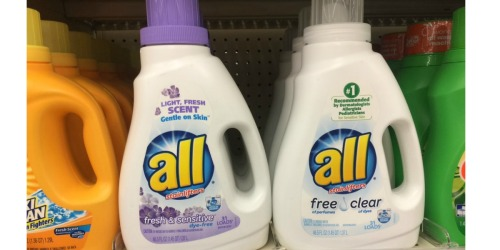 Walgreens Shoppers! Print Your Coupons Now – All Laundry Detergent Only $1.99 (Starting 4/23)