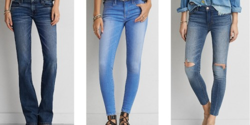 American Eagle Outfitters: Clearance Jeans Only $19.99 (Regularly up to $69.95)