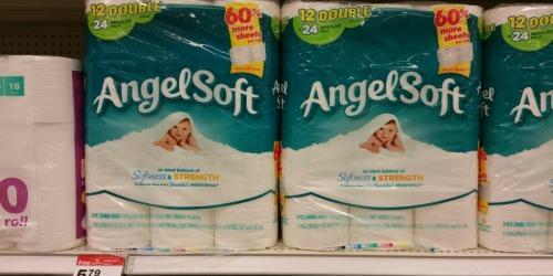 Target: Angel Soft Bath Tissue 12-Roll Packs Only $3.67 Each (Just 31¢ Per Roll)