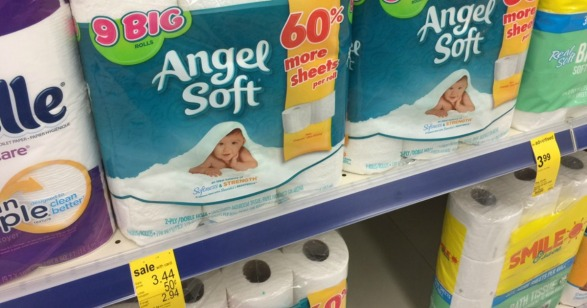 Angel Soft Bathroom Tissue