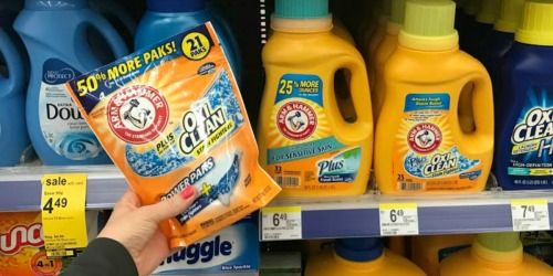 Walgreens: Arm & Hammer Laundry Detergent Only $2.75 Each