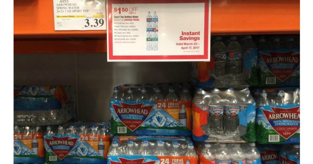 Arrowhead Sport Top Bottled Water