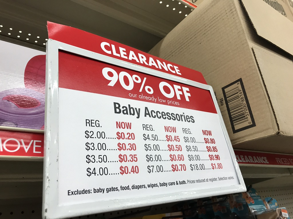 Baby Clearance