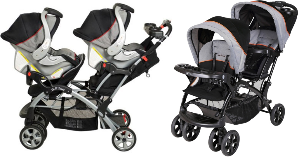 Baby Trend Double Sit N Stand Stroller Only 99 88 Shipped