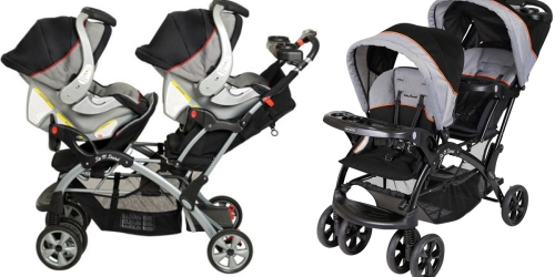 Baby Trend Double Sit-N-Stand Stroller Only $99.88 Shipped (Regularly $153)