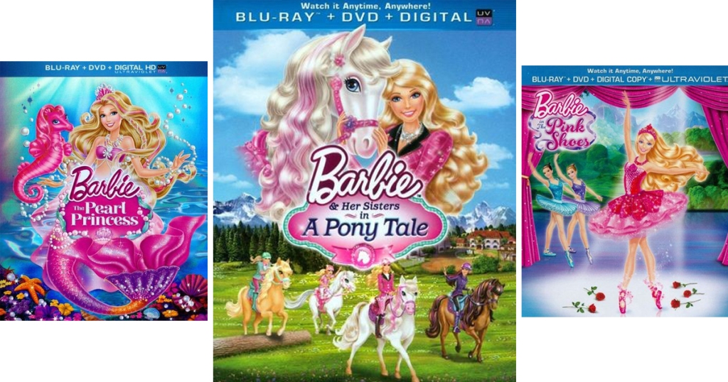 Barbie Blu-ray Movies