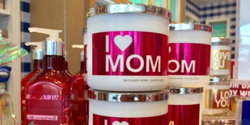 Bath & Body Works 3-Wick Candles Only $9 Each & More
