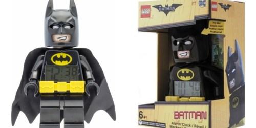 Best Buy: LEGO Batman Movie Alarm Clock Only $13.99 (Regularly $27.99)