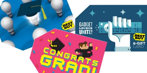 Buy $100 in Best Buy eGift Cards = FREE $10 Promotional Savings Code