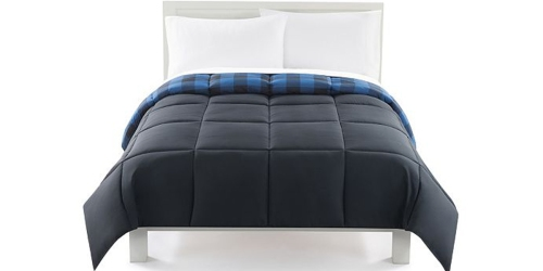 Kohl's: The Big One Reversible Comforters ALL Sizes Only $21.24 (Regularly $99)
