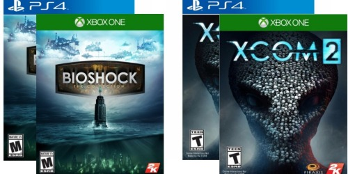 Nice Discounts on Select Xbox One and PlayStation 4 Video Games