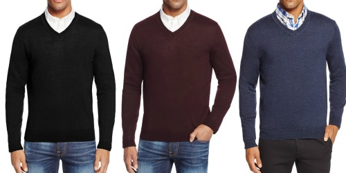 Bloomingdale's Men's Merino Wool Sweaters Only $35 Shipped (Regularly $88)