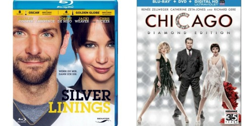 Target: Select Blu-Ray Discs ONLY $4 – Silver Linings Playbook, Chicago + LOTS More