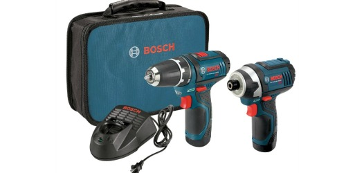 Amazon: Bosch 12-Volt 2-Tool Combo Kit Only $91.75 Shipped (Regularly $169)