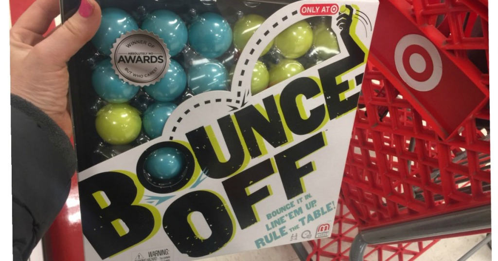Bounce-Off Board Game