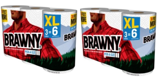 CVS: Brawny 3XL Paper Towels 3-Pack Only $3.08 Each