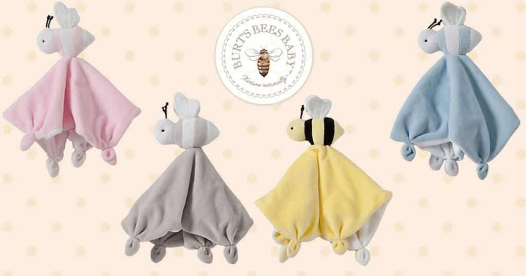 Burts Bees Baby Loveys
