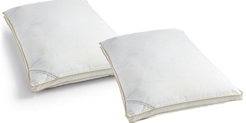 Calvin Klein Down Alternative Pillows Only $5.99 at Macy's (Regularly $34)