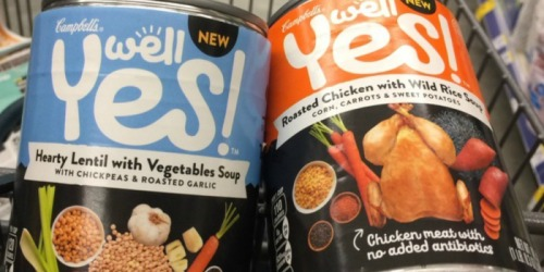 New $1/1 Campbell's Well Yes! Soup Coupon = Only 60¢ Per Can at Target (Regularly $2.29)