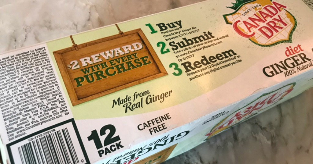 Canada Dry 12 pack