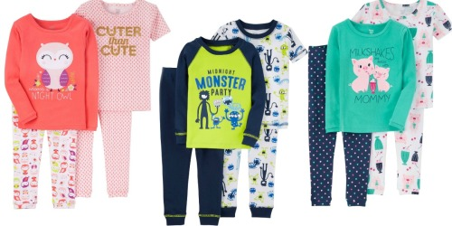 Target: Extra 20% off Kids' Clearance Clothing = Just One You by Carter's 4-Pc Pajamas Only $6.38 & More
