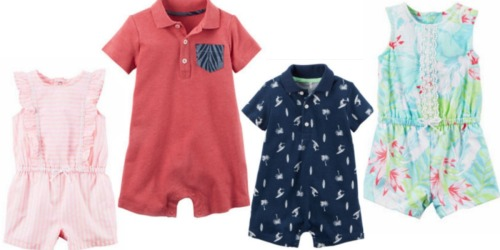 JCPenney: Carter's Baby Rompers Only $4.19 (Regularly $18) + More