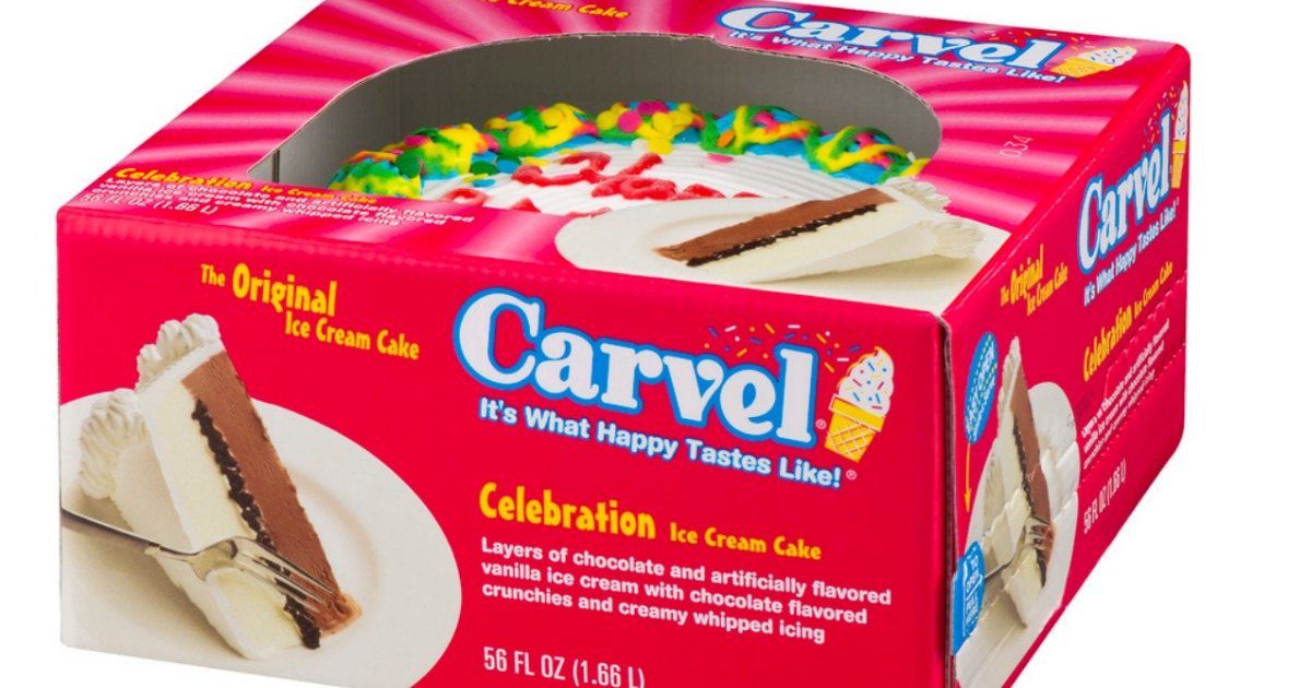 photograph regarding Carvel Coupon Printable titled Large Expense $4/1 Carvel, Hello there Kitty OR Oreo Ice Product Cake