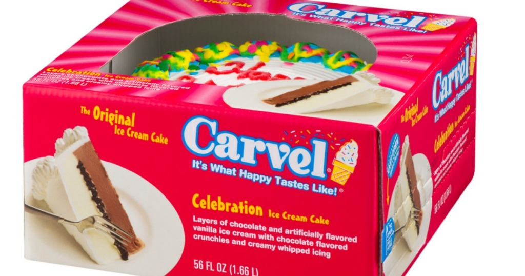 High Value 4 1 Carvel Hello Kitty OR Oreo Ice Cream Cake Coupon Only 899 At Target