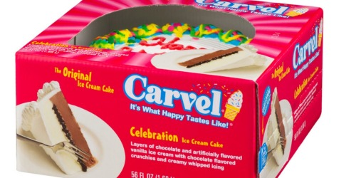 High Value $4/1 Carvel, Hello Kitty OR Oreo Ice Cream Cake Coupon = Only $8.99 at Target