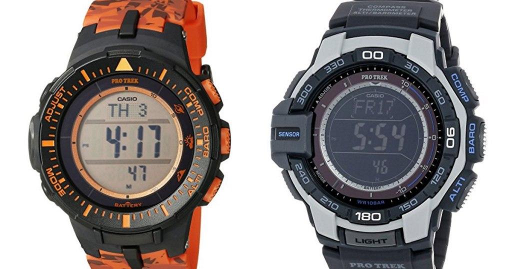 Casio Pro Trek Solar Watches